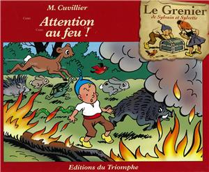 Le Grenier de Sylvain et Sylvette - G4 - Attention au feu
