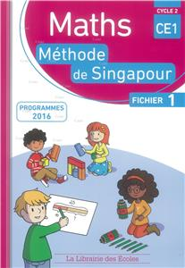 Maths CE1 Fichier 1 - Cycle 2 - Méthode Singapour