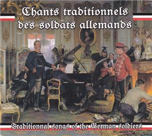 Chants traditionnels des soldats allemands - CD 51030