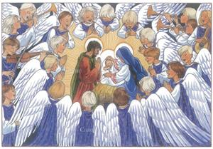 Gloria in excelsis Deo - Dessin de Joëlle d´Abbadie