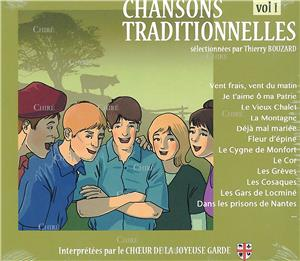 Chansons traditionnelles - Vol 1 - CD 51032