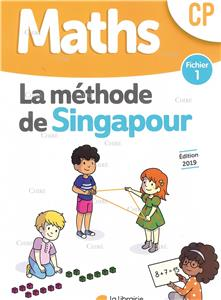 Maths CP Fichier 1 - Méthode Singapour - Edition 2019